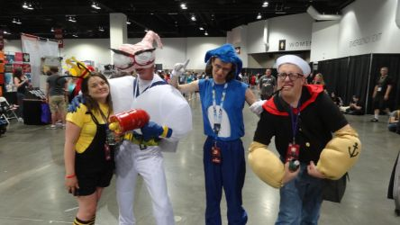Denver Comic Con 2018 Day 2: Mega Crossover by Mr-Herp-Derp