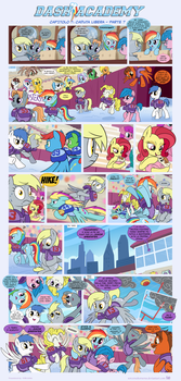 [Italian] Dash Academy 7 - Free Fall - Part 7 by FiMvisible
