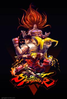 Street Fighter V by Gjergji-zhuka