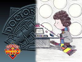 Fourth Doctor Wallpaper by Carthoris