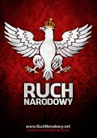 Polish National Movement poster - Ruch Narodowy by N4020