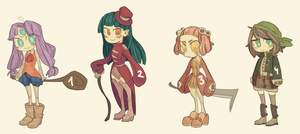 (1\4 OPEN) rpg adoptables by aeternoria