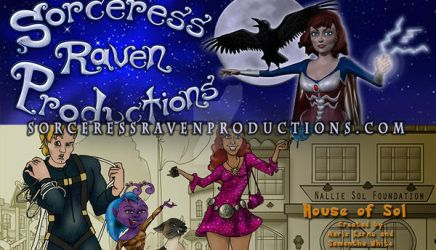 The New Sorceress Raven Productions Website by TheSorceressRaven
