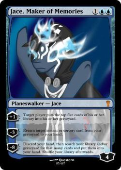 Jace, Maker of Memories by Zhantora