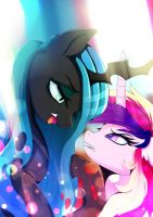 Shining will never be yours by Rariedash