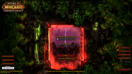 Warlords of Draenor Login Screen *Updated* by Arthzull