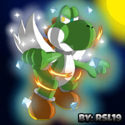 Ultimate Fire and Ice - Super Dragon Greeny Yoshi by Greeny-Yoshi-RSL19