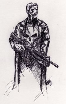 The Punisher by bekaboo