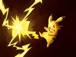 Pikachu used Electro Ball by LazyAmphy