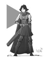 Character sketch_003 by seanplenahan