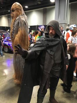 I Sense a Chewbacca in the Force by rlkitterman