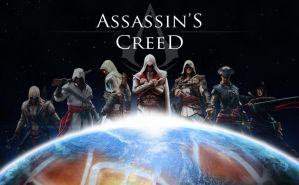 Assassin's Creed space by johnnygreek989