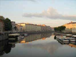 canals of St. Petersburg by photoyogin