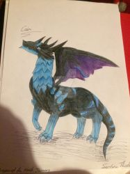 Dragon of the month January 2019 by ServineThistle