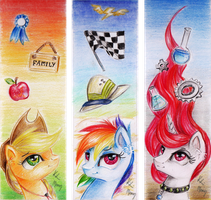 Bookmarks 2 by Moonlight-Ki