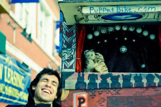 Puppet Bike and Augusto: 3 by allnightoperator