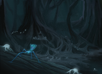 The Forest Of Ghosts by DVhuizen