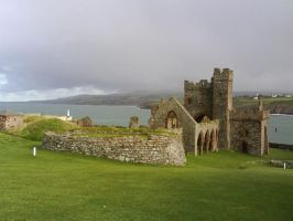 Peel Castle 13 by Creepy-Stock