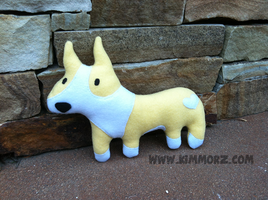 Corgi Plush by Kimmorz