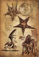 Goomicronicon Page Necronomic Studies I by goomi32