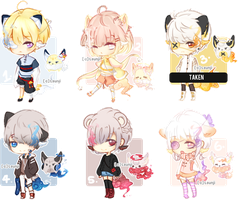 [CLOSED] Vexcia Auction Set by mintaee