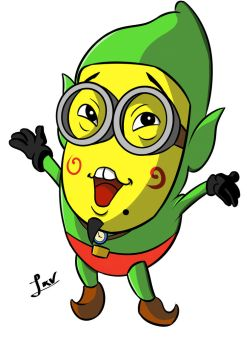 Tingle Minion by SRProductions