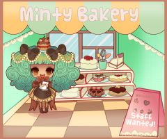 Minty Bakery by Minty-Kitty-Art