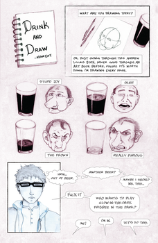 Drink and Draw by atomantic