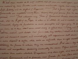 Antique Writing 2 by DandyStock
