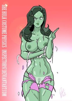 She Hulk Costume Physics by Inspector97