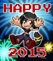 Happy 2015 by rongs1234
