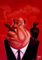 .Alfred Hitchcock. by hamex