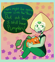 Optimistic Peridot! by CloudedPink