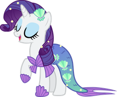 Rarity Nightmare Night outfit by Pilot231