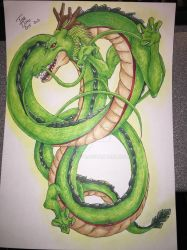 Shenron from dragon ball by tinaditte