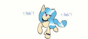 Beach Pony Adopt 5 Points  REDUCED PRICE CLOSED by MadWhovianWithABox