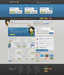 PROFESSIONAL WEB HOSTING LAYOUT by JonasIngebretsen