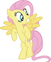 Scared Fluttershy Vector by hombre0