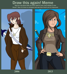 Before - After: Jordan Cain by Vicsor-S3