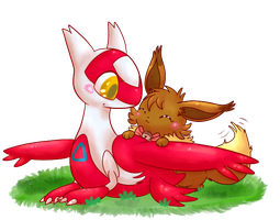 Ruby and the little Latias