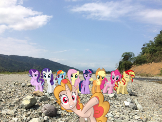 Ponies in Aurora Baler Philippines by Hikarisah