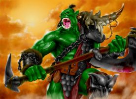 World of Warcraft - Orc 01 by IsraLlona