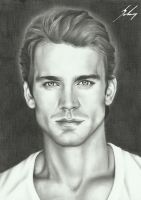 Matt Bomer - Portrait by LeyuArt
