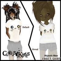 Second Life Majestic Mew T-Shirt by ameshin