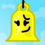 Yellow Bell icon by xXShinyLeafXx