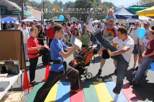Karate Day at Street Fair 3 by quietstorm2
