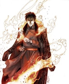The Flame Alchemist by Abz-J-Harding