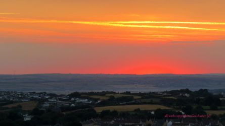 THE HEAT OF THE DAWN OVER APPLEDORE by GeaAusten