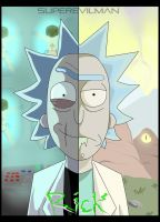 Evil Rick and Rick by SuperEvilMan