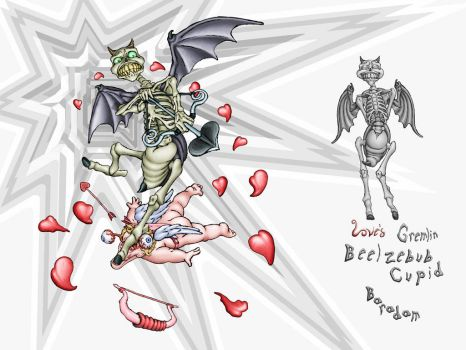Beelzebub Cupid by Baradam